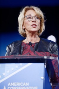U.S. Secretary of Education Betsy DeVos, photo by Michael Vadon via Flickr