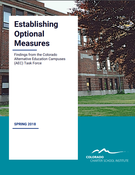 Establishing Option Measures Report