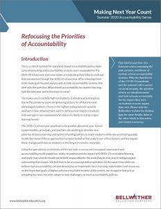 Refocusing the Priorities of Accountability Report